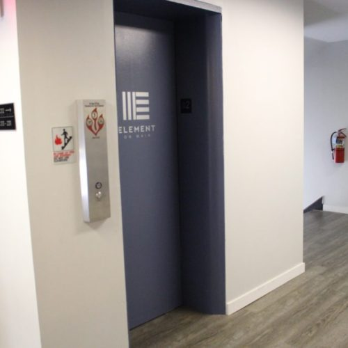 Element on Main Elevator